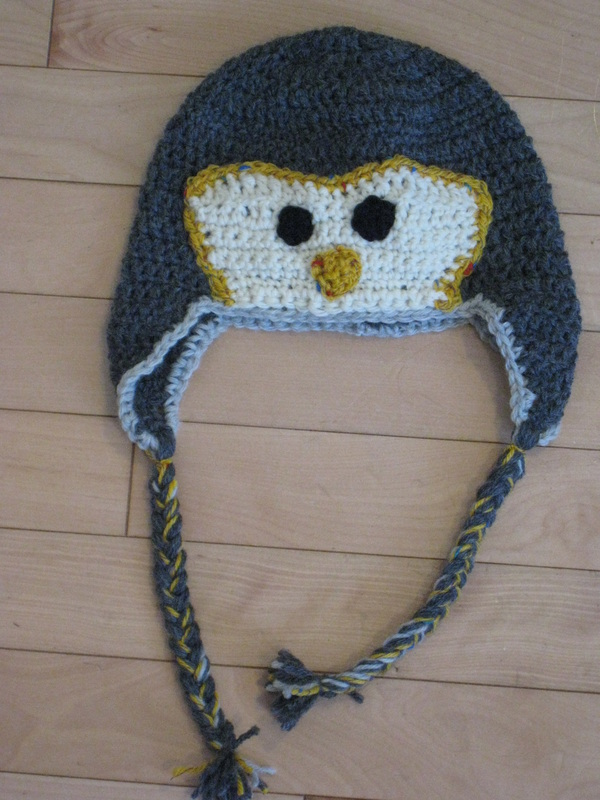 Crochet Penguin Hat - Impassioned Yarn by Cathy Kean